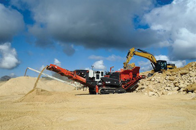Crushing & Screening Aggregates, Zenith Aggregates